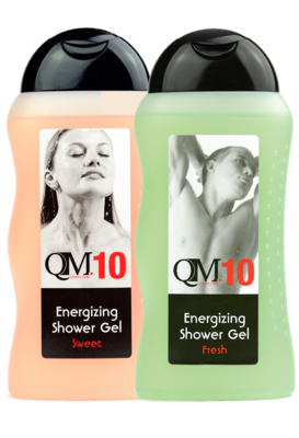 10 QM Energizing Shower Gel