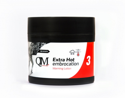 3 QM Extra Hot Embrocation (warming lotion) 200 ml
