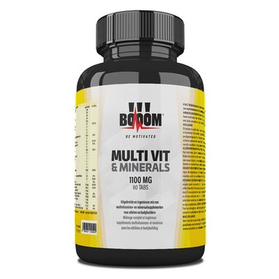 BOOOM Multi Vit & Minerals 1100 mg