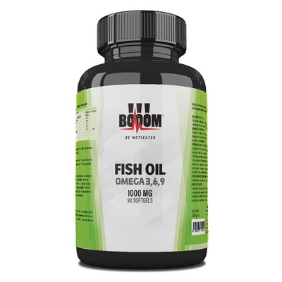 BOOOM FISH OIL Omega 3-6-9 - 1000mg